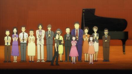 觀賞大賽的神明。第 1 季第 5 集。